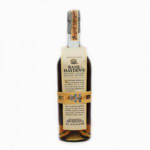 バーボンウイスキー、ベーシルヘイデン。オールドグランダッドの原酒を厳選して瓶詰